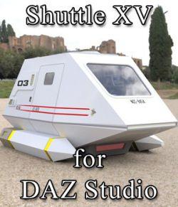 Shuttle Model XV for DAZ Studio