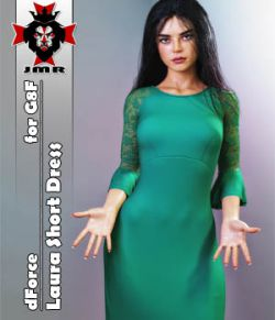 JMR dForce Laura Short Dress for G8F