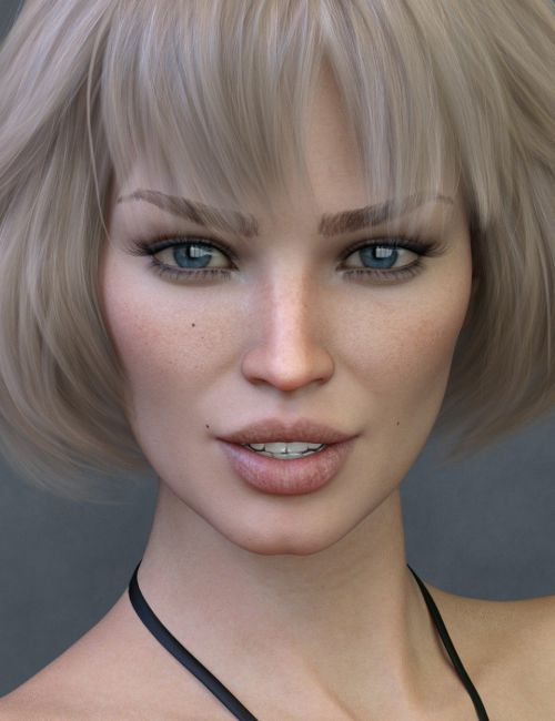 Claudina HD for Genesis 8 Female