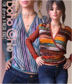 Boho Chic for dForce V-Neck Knit G8F
