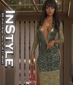 InStyle- JMR dForce Moya Dress for G8F