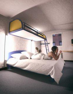 Hotel Bunk Bed Room