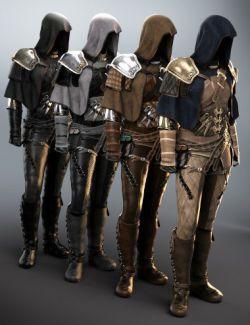 Raven Guild Assassin Outfit Textures