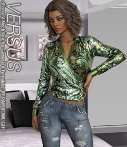 VERSUS - dForce V-Neck Knit for Genesis 8 Females