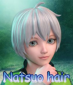 Fantasy Anime Haircut 8 Natsuo Hair for G3M G8M