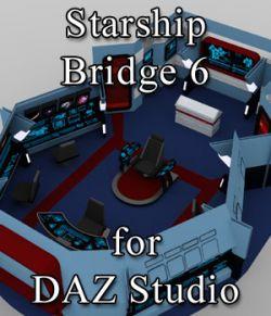Starship Bridge 6 for DAZ Studio
