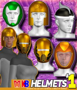 Helmets v001 MMKBG3