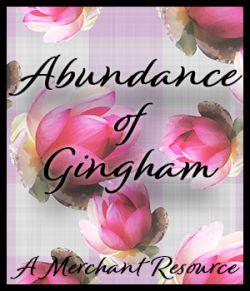 Abundance of Gingham