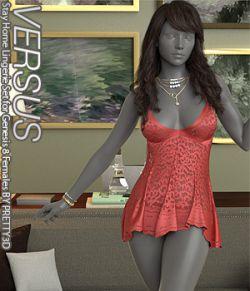 VERSUS - Stay Home Lingerie Set for Genesis 8 Females