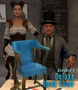 Greybro's Deluxe Desk Chair with Poses