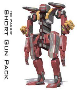 Short Gun Pack for Warbot
