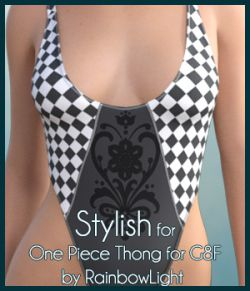 Stylish for One Piece Thong