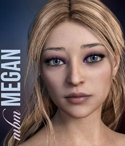 MbM Megan for Genesis 3 & 8 Female
