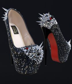 Spiked&Shiny Heels
