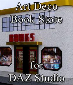 Art Deco Book Store for DAZ Studio