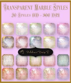 Transparent Marble Styles