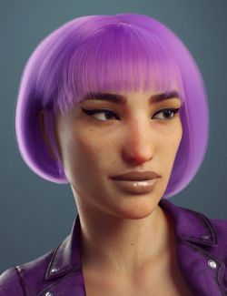 dForce Fashionable Bob for Genesis 8 Female(s)