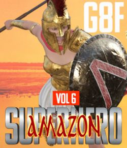 SuperHero Amazon for G8F Volume 6