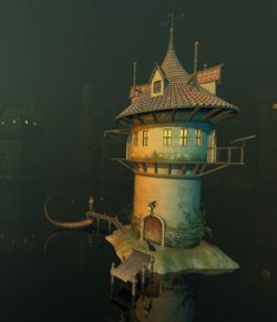 Smugglers Tower for Daz Studio