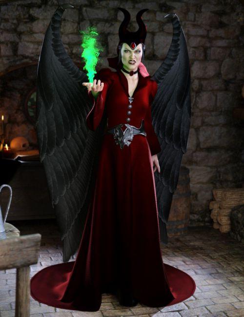Faery Tale Evil for Genesis 8 Female(s)