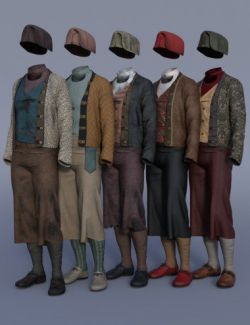 dForce Deck Hand Outfit Textures