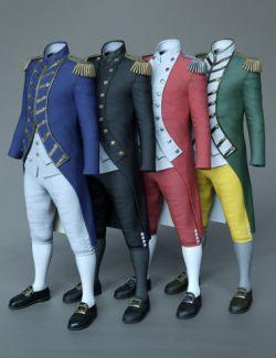 dForce Naval Uniform Textures