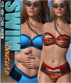 SWIM Couture for High Class Lingerie G8F