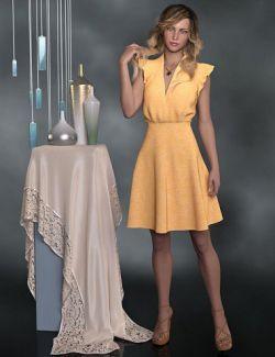dForce Kadie Outfit for Genesis 8 Female(s)