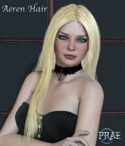 Prae-Aeren Hair for Poser