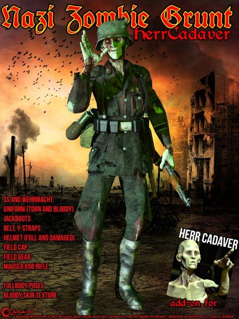 Nazi Zombie Grunt for HerrCadaver