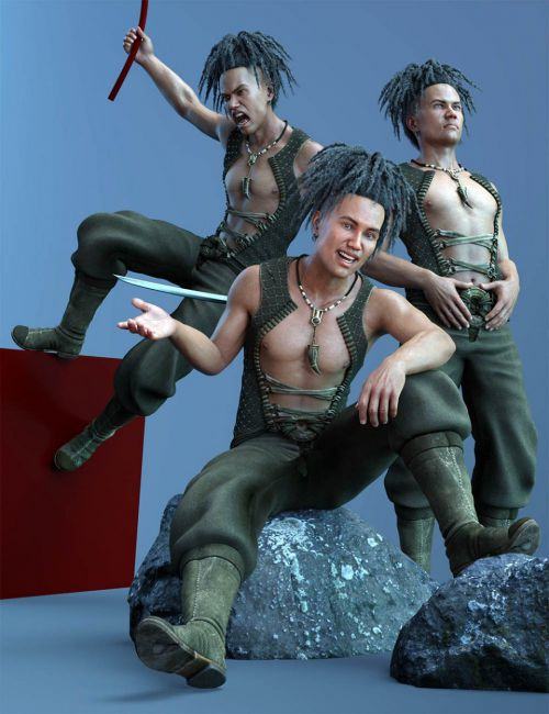 CDI Poses for Valentino 8 and Genesis 8 Male