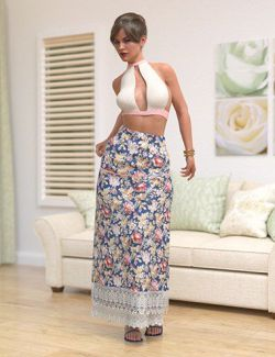 dForce Boho Beautiful Set for Genesis 8 Female(s)