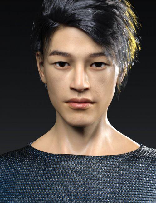 Wufei HD for Genesis 8 Male