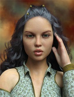Isah HD for Genesis 8 Female