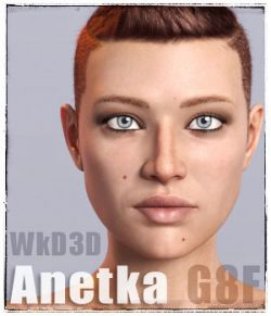 WkD3D Anetka for Genesis 8 Female