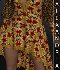 Alexandria for Agatha Dress
