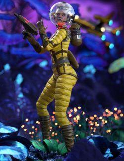 Retrospace Gunner for Genesis 8 Female