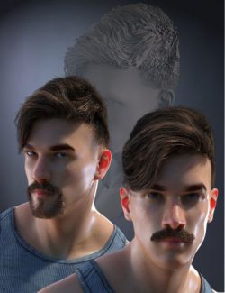 Enzonio Hair Kit for Genesis 8 Male(s)