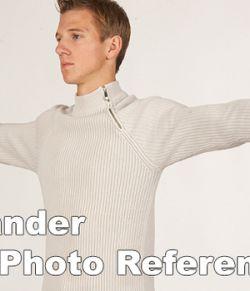 Alexander High Res Skin Texture Photo Set
