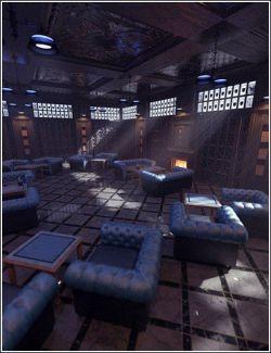 Dignified Gentlemen's Game Room