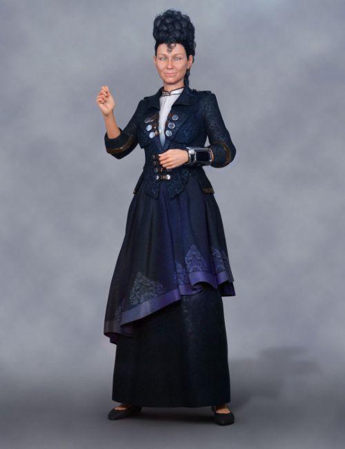 dForce Futuristic Dress for Genesis 8 Female(s)