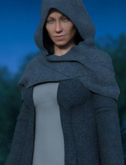 dForce Hooded Outfit Textures