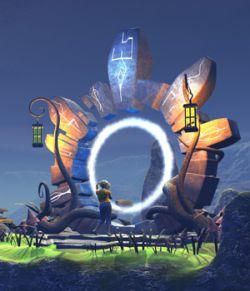 Fairytale portal for Daz Studio