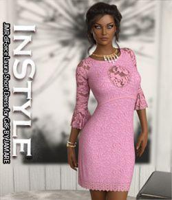 InStyle- JMR dForce Laura Short Dress for G8F