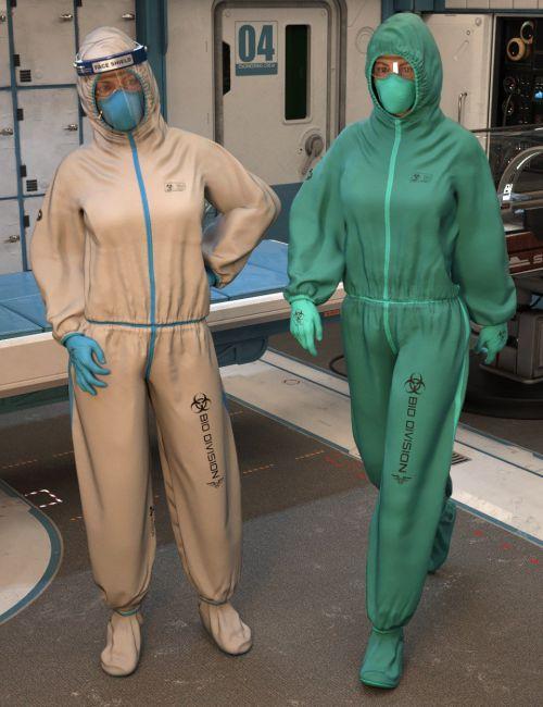 Bio Suit for Genesis 8 Females