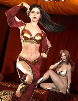 dForce Suriya Outfit for Genesis 8 Female