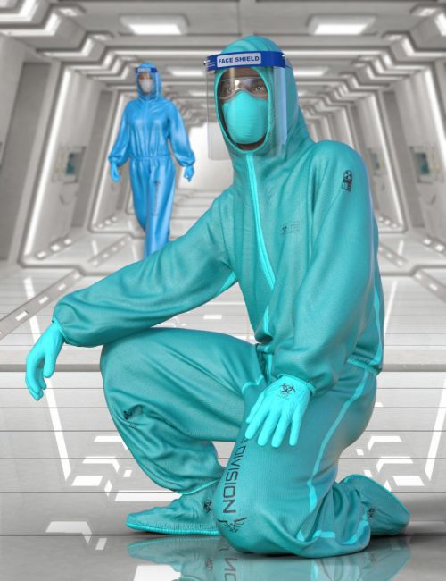 Bio Suit for Genesis 8 Male (s)
