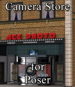Camera Store for Poser
