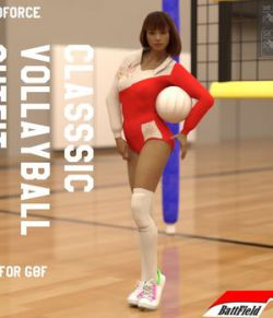 dForce Classic Vollayball Outfit for G8F
