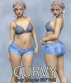 Curvy Body Morphs for G8F Vol 2